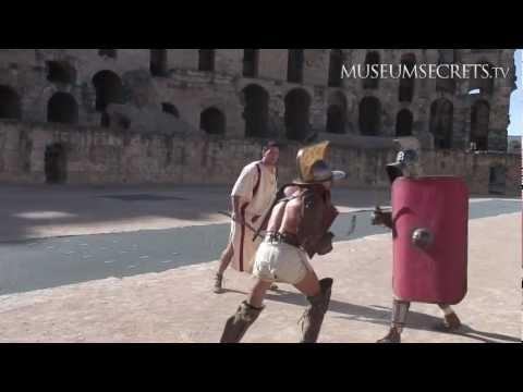 Recreating a Gladiator Battle at El D