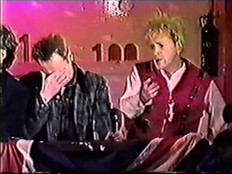 Sex Pistols Reunion Press Conference - 100 Club, London, 1996