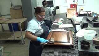 Cabinet Door Finishing