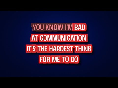 The Wire - Haim | Karaoke LYRICS