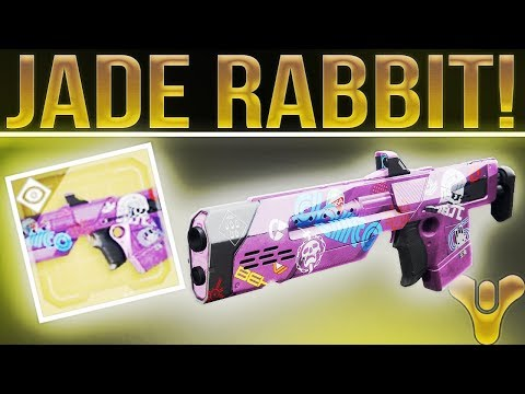 Destiny 2 Jade Rabbit. (Wow........Just Wow.). What Exotics