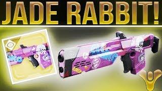 Destiny 2 Jade Rabbit. (Wow........Just Wow.). What Exotics