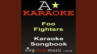 Let It Die (Originally Performed By The Foo Fighters) (Karaoke Version)