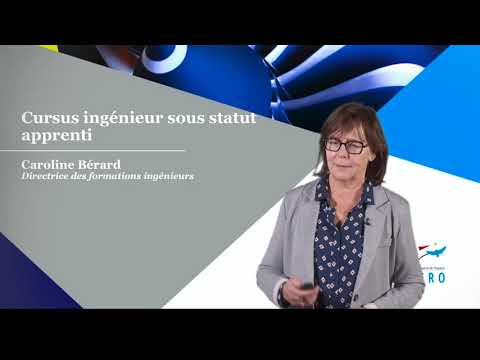 Caroline Bérard présente la nouvelle Formation Ingénieur par Apprentissage !