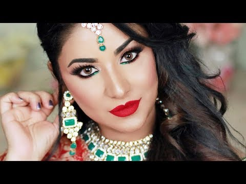 Indian Bridal Makeover | Reception Look | Antique Copper Eye Makeup Tutorial thumbnail