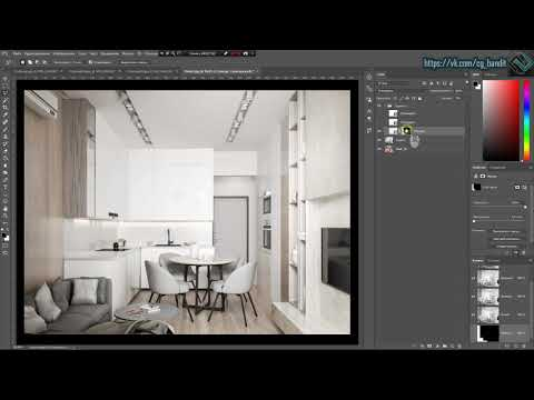 Рендер элемент CTexmap Corona Renderer + 3D Max + Photoshop