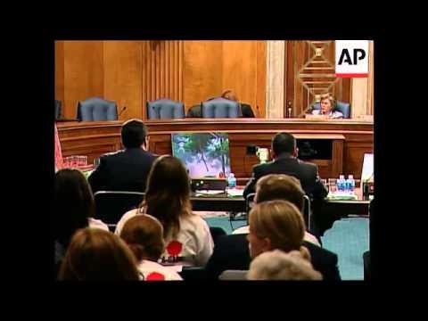 Senate subcommittee hearing on Myanmar