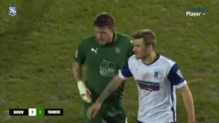 GOAL: Brilliant Volley By Andy Cook At Barrow
