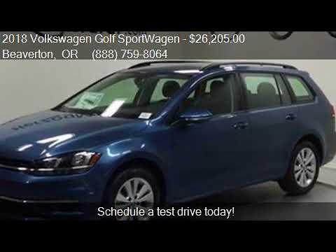 2018 Volkswagen Golf SportWagen TSI S 4Motion AWD 4dr Wagon