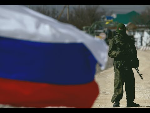 'Polite People' in Crimea 2014. The modern Russian army 2014
