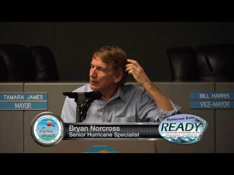 Bryan Norcross, Senior Hurricane Specialist @ Dania READY Hurricane Expo