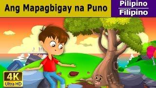 Ang Mapagbigay na Puno | Kwentong Pambata | Mga Kwentong Pambata | 4K UHD | Filipino Fairy Tales