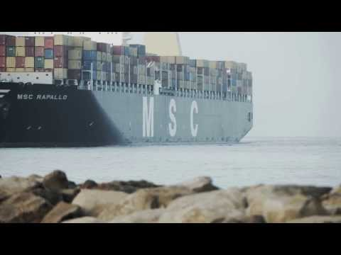 The First Mega-Vessel @ King Abdullah Port