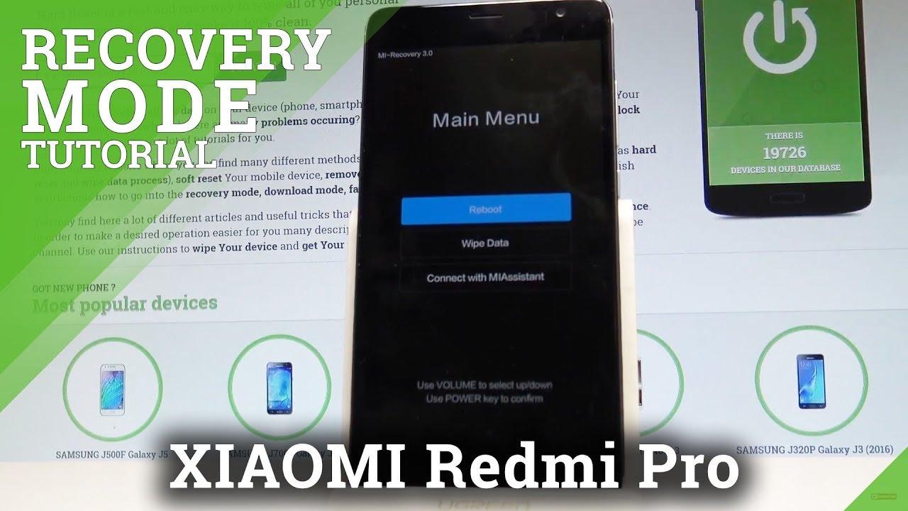 Recovery Mode XIAOMI Redmi Note 5 Pro - HardReset info