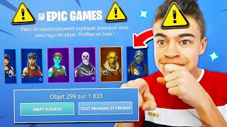 DO NOT do THE GLITCH for DEBLOCK ALL FORTNITE SKINS! ⚠️