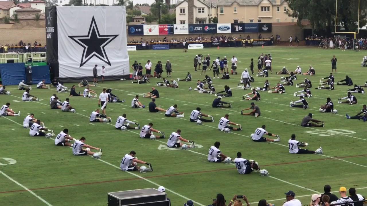 4f41a047e03 NFL Dallas Cowboys Training Camp 2018 Practice Oxnard California ...