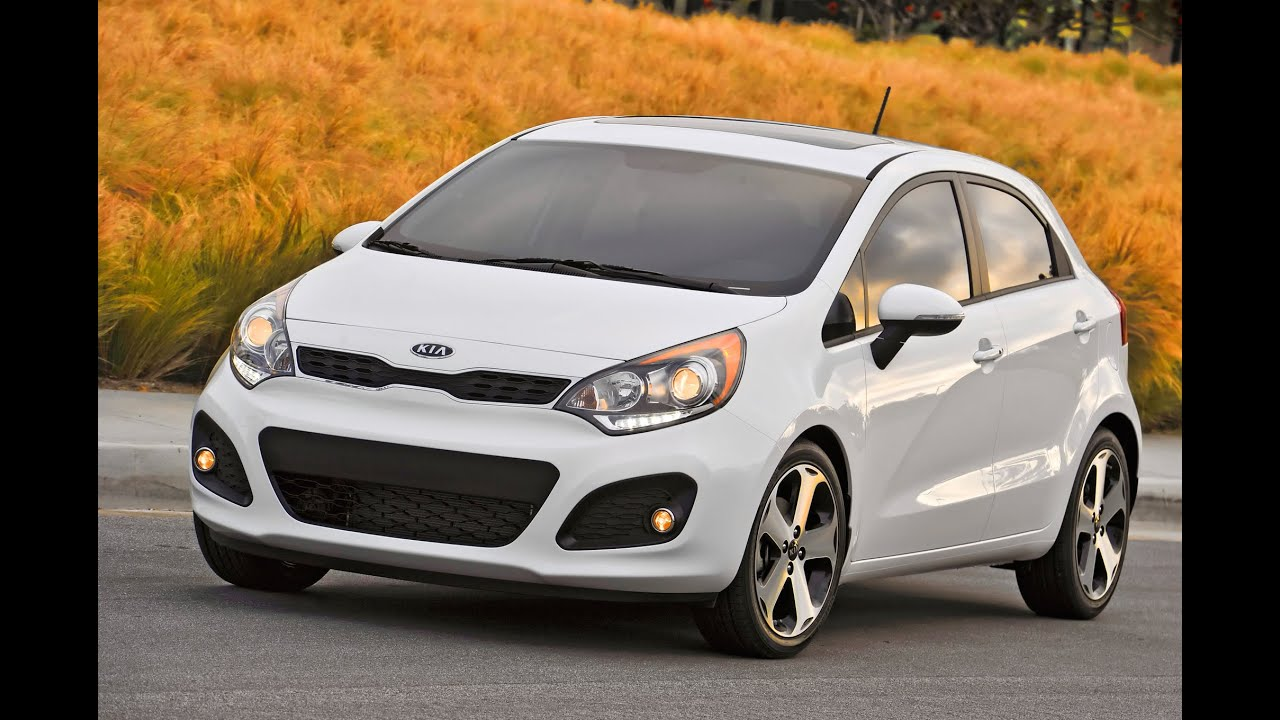 Kia Rio hatchback 2014 review - YouTube