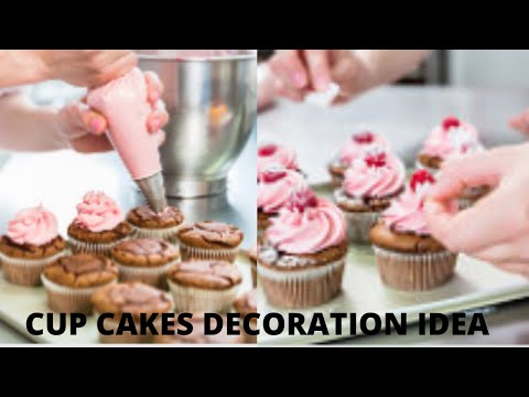 Cup Cake Designed Cake Decorating Tips and Tools for Beginners | Cake Decorating Ideas