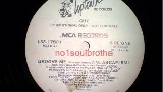 "Guy ""Groove Me"" (Extended"