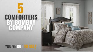 Top 10 Bombay Company Comforters [2018]: Bombay Darrow Calif. King 10 Piece Comforter Set
