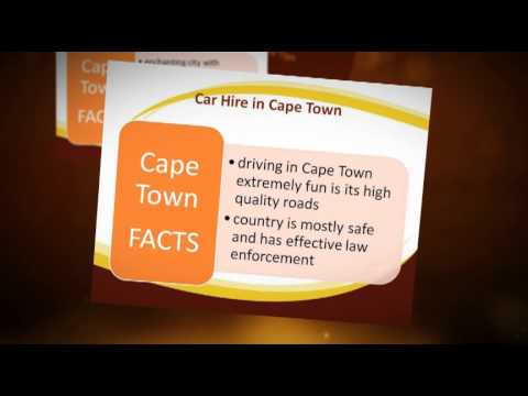 Car Hire in Cape Town - 5 Best Tips