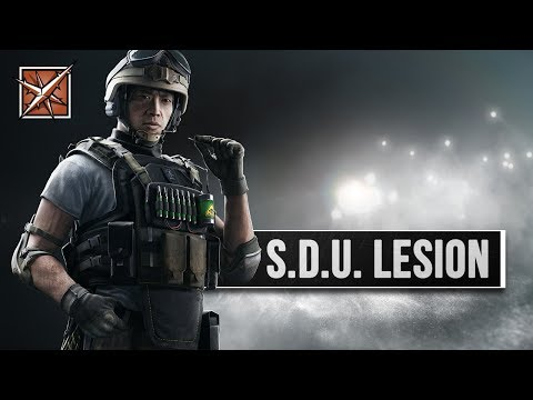 Rainbow Six Siege - Lesion Operator Guide | deutsch