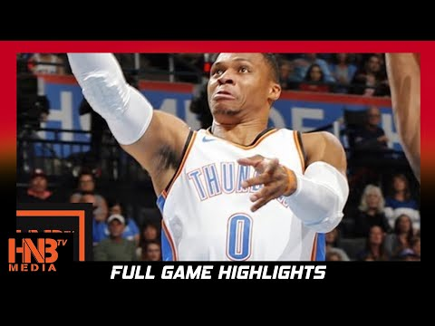 Thumbnail: Oklahoma City Thunder vs Indiana Pacers Full Game Highlights / Week 2 / 2017 NBA Season