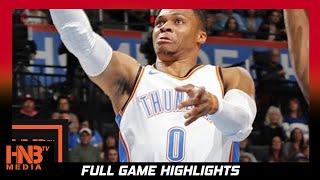 Oklahoma City Thunder vs Indiana Pacers Full Game Highlights / Week 2 / 2017 NBA Season