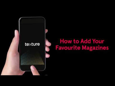 Texture: How to Add Your Favourite Magazines