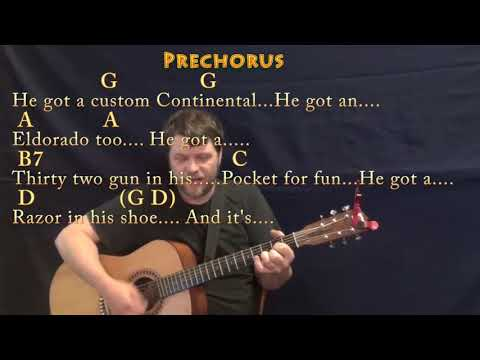 Bad Bad Leroy Brown (Jim Croce) Guitar Cover Lesson with Chords/Lyrics - Munson