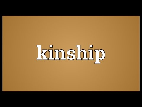 Kinship Meaning