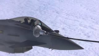 Typhoon FGR4 air to air refuel EX Red Flag