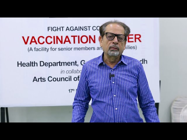 ACP President | Ahmed Shah | Covid-19 Vaccination Centre | 2nd Dose | Arts Council Karachi #acpkhi 