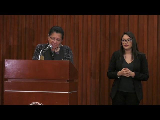 Discurso de la Presidenta de #CDHCM en el Informe La situación del trabajo infantil