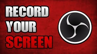 How to use obs studio to record screen videos / InfiniTube