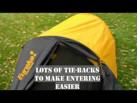 Eureka! Solitaire Tent Review & Eureka! Solitaire Tent Review - YouTube