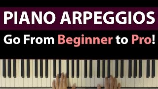 Piano Arpeggios Tutorial, From Beginner to Pro - 6 Patterns To Inspire Your Playing
