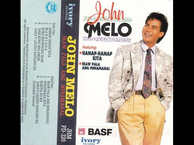 Ikaw Pala Ang Minamahal (Lyric Video) Singer John Melo, Composer: Alex Catedrilla