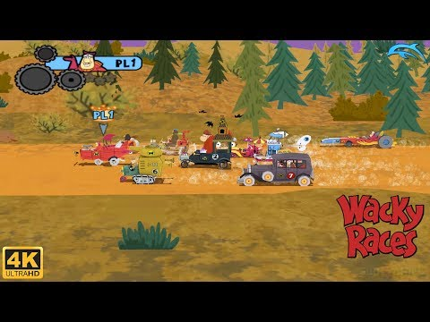 Wacky Races: Crash & Dash - Wii Gameplay 4k 2160p (DOLPHIN)
