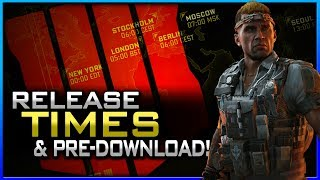 Black Ops 4 Release Times & Pre-Download Details! (PS4, Xbox, PC)