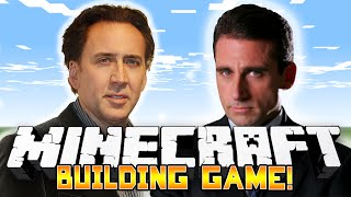 Minecraft: BUILDING CELEBRITIES! (Funny Building Game) - w/Preston & Friends!