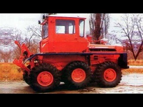 Опытный колесный трактор ДТ-75, о которых мало кто знает!