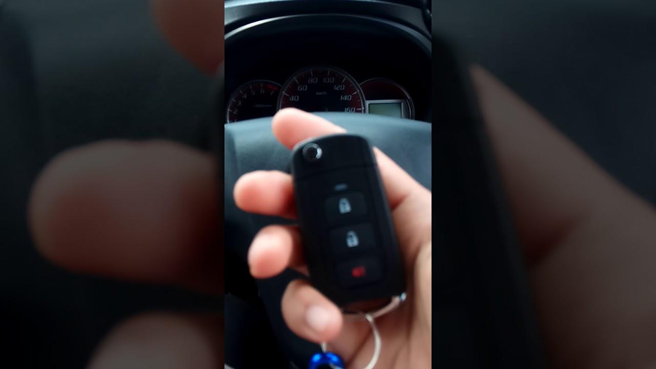 Flip Key Grand New Avanza Harga Innova Venturer Kunci Remot All Youtube