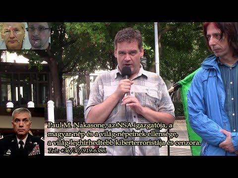 Ellenségünk az USA, a legfőbb háborús rablóállam! (Vincze Krisztián, US Embassy Budapest)