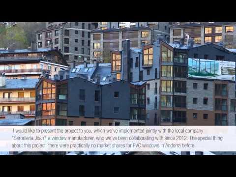 REHAU ON AIR: REHAU window solutions satisfy in Andorra