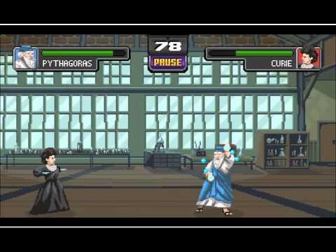 Science Kombat, el juego donde Einstein, Darwin y Hawking pelean a muerte