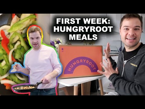 Trying Instagram Products! Hungryroot Easy Healthy Meal Kit and Grocery Delivery