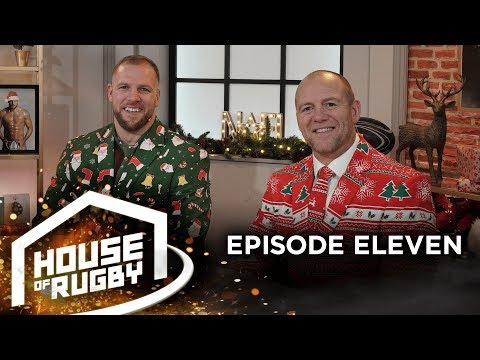 James Haskell and Mike Tindall: Christmas with the Queen and Richard & Judy | House of Rugby #11