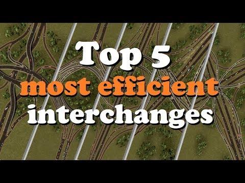 TOP 5: most efficient interchanges (+Workshop link)