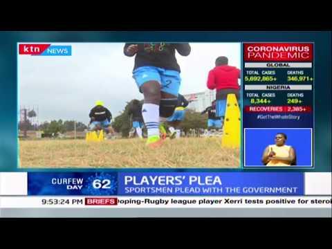 Players\' plea: Sportsmen plead with Government as Coronavirus pandemic bites hard